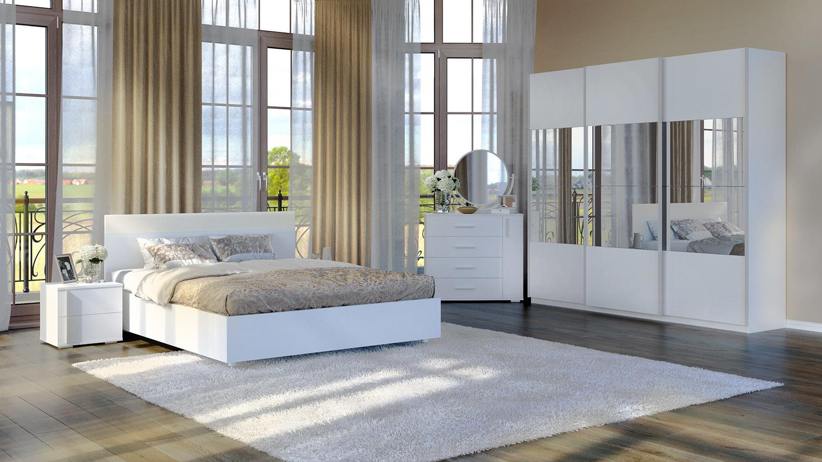 Фото - Кровать с подъемным механизмом Askona IREN white кровать с подъемным механизмом askona milana