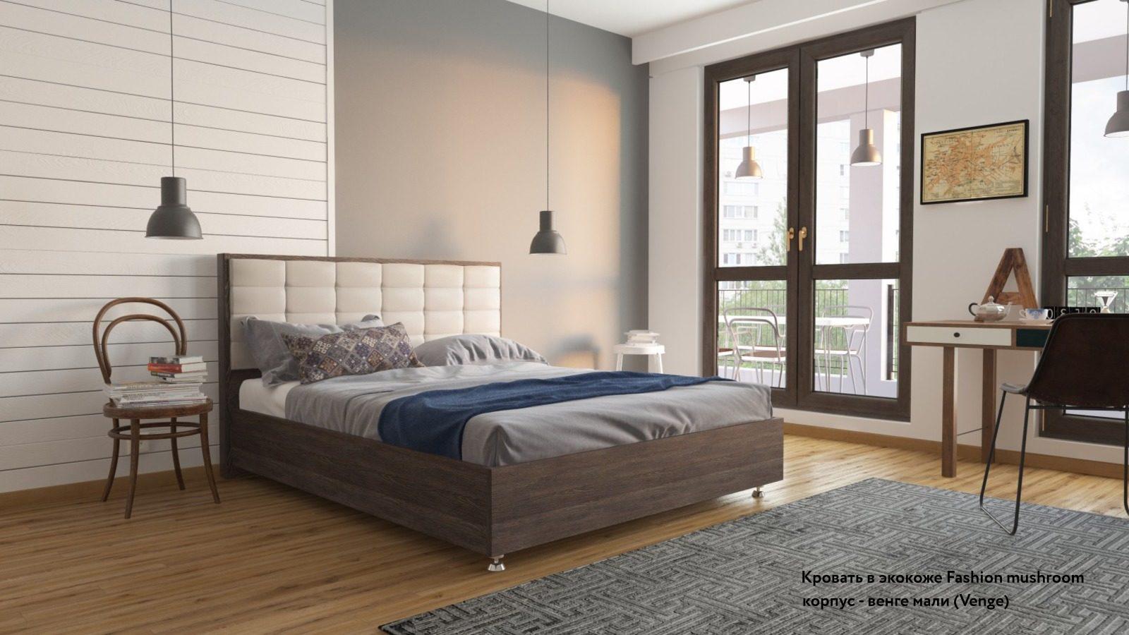 Фото - Кровать с подъемным механизмом Askona Amber Venge кровать с подъемным механизмом askona milana