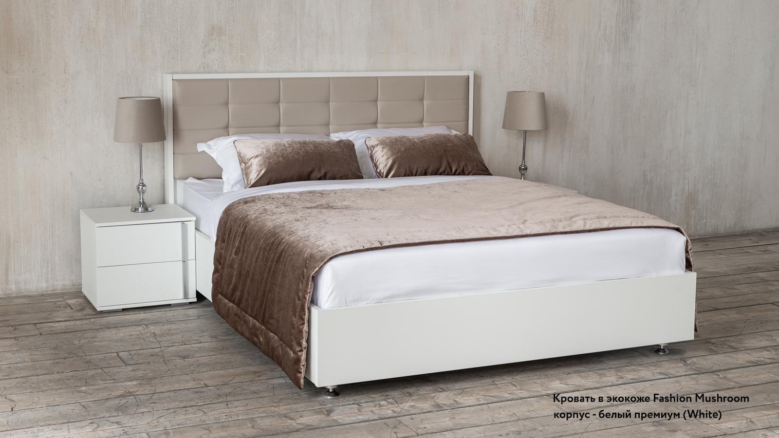 Фото - Кровать с подъемным механизмом Askona Amber White кровать с подъемным механизмом askona jane