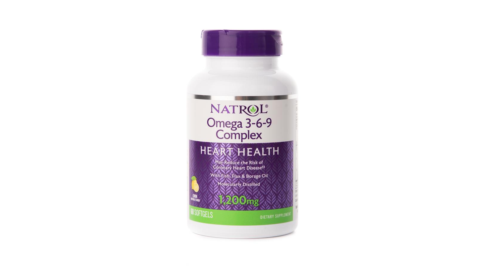 Фото - БАД Омега 3-6-9 Natrol 1200 мг, 60 капсул sesderma бад oftalses dry eyes к пище офтальсес от сухости глаз 60 капсул