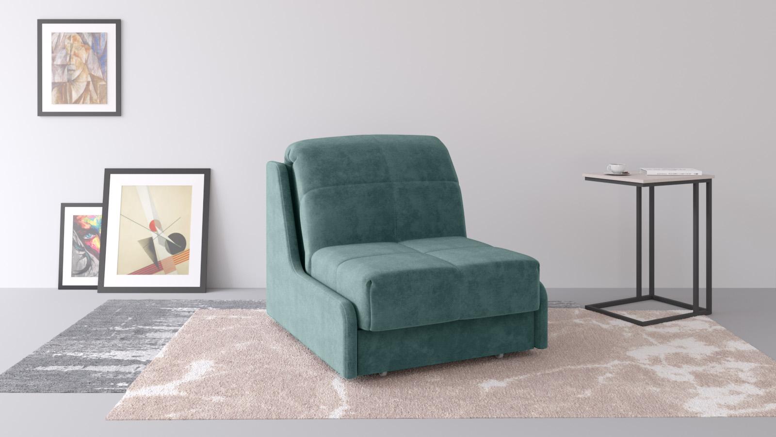 Кресло-кровать Askona PERSEY Nova Casanova Seawave прямой диван askona melani casanova seawave