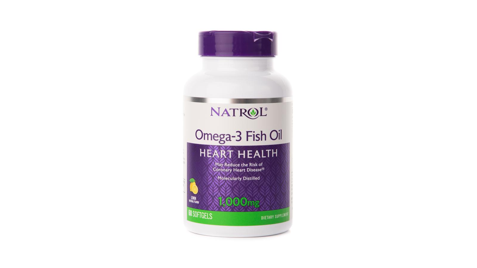 Фото - БАД Омега-3 Natrol 1000 мг, 60 капсул sesderma бад oftalses dry eyes к пище офтальсес от сухости глаз 60 капсул
