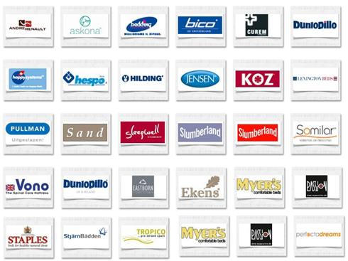 Логотипы компаний, входящих в группу Хилдинг Андерс